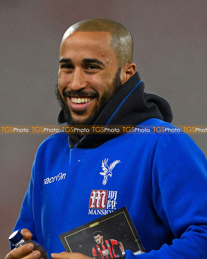 Andros Townsend during AFC Bournemouth vs Crystal Palace, Premier League Football at the Vitality Stadium on 31st January 2017