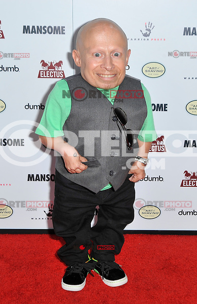 Verne Troyer at the premiere of Morgan Spurlock's 'Mansome' at the ArcLight Cinemas on May 9, 2012 in Hollywood, California. © mpi35/MediaPunch Inc.