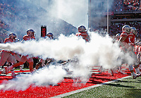 Ohio State Buckeyes take to the field against Indiana at Ohio Stadium October 8, 2016.(Dispatch photo by Eric Albrecht)