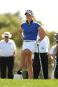 Apr. 2, 2006; Rancho Mirage, CA, USA; Rookie Morgan Pressel waits to tee off during the final round of the Kraft Nabisco Championship at Mission Hills Country Club. ..Mandatory Photo Credit: Darrell Miho.Copyright © 2006 Darrell Miho .