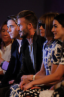 Beckham at VICTORIA BECKHAM fashion show<br /> New York Fashion Week<br /> Ready to Wear, Spring Summer 16/17<br /> on September 11, 2016<br /> CAP/GOL<br /> &copy;GOL/Capital Pictures /MediaPunch ***NORTH AND SOUTH AMERICAS ONLY***