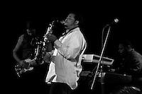 Saxophonist Dante Lewis