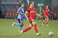 Portland, Oregon - Saturday July 2, 2016: Portland Thorns FC midfielder Celeste Boureille (30) controls the ball during a regular season National Women's Soccer League (NWSL) match at Providence Park.