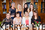 +++Reproduction Free+++<br /> Enjoying a girls night out with in Leen's Hotel, Abbeyfeale, pictured last Saturday night was  F l-r: Ciara Collins, Aimee Lyons, Katie Daly, Eimear Gaire. B L-r: Jenny Ring, Clare Daly, Elaine Stryker and Rebecca Ward