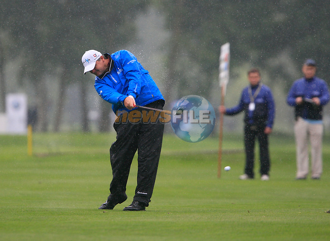 Paul Lawrie (SCO) in action on the 6th hole during Day 1 of the BMW International Open at Golf Club Munchen Eichenried, Germany, 23rd June 2011 (Photo Eoin Clarke/www.golffile.ie)