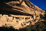 The Cliff Palace of the Anasazi Cliff Dwellings in Mesa Verde National Park, Colorado