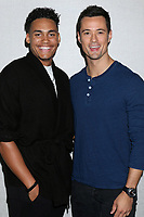 LOS ANGELES - JUN 22:  Adain Bradley, Matthew Atkinson at the Bold and the Beautiful Fan Club Luncheon at the Marriott Burbank Convention Center on June 22, 2019 in Burbank, CA