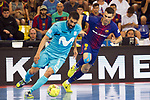 League LNFS 2017/2018.<br /> PlayOff Final-Game 4.<br /> FC Barcelona Lassa vs Movistar Inter FS: 3-3.<br /> FCB por penaltys.<br /> Francisco Humberto vs Sergio Lozano.