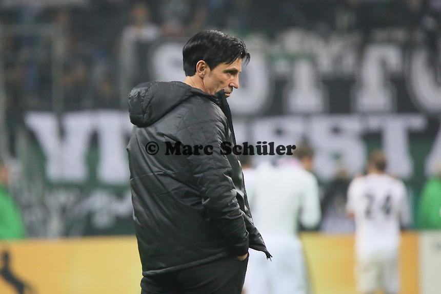 Sportmanager Bruno Hübner (Eintracht) - Eintracht Frankfurt vs. Borussia Mönchengladbach, DFB-Pokal 2. Runde, Commerzbank Arena
