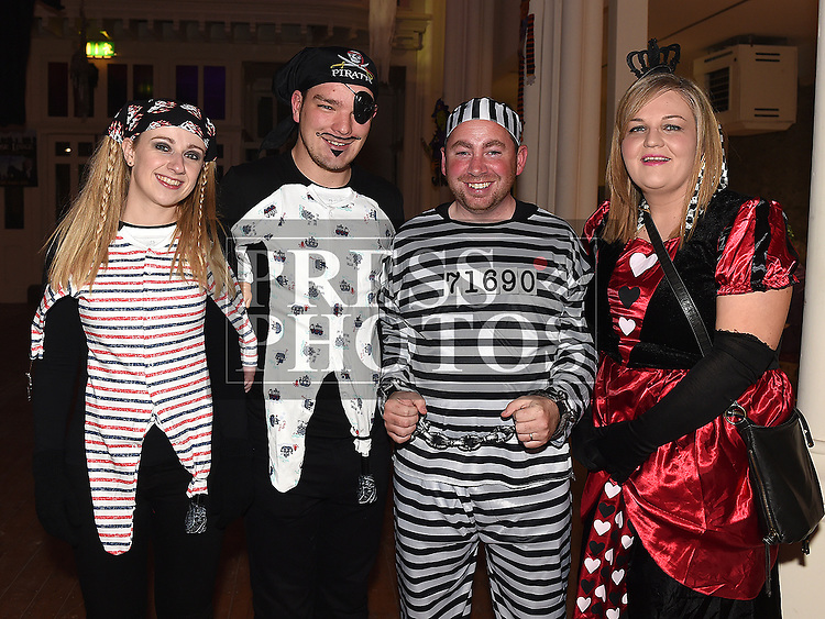 at the Halloween Ball in the old church Ardee in aid of St. Mary's GAA club. Photo:Colin Bell/pressphotos.ie