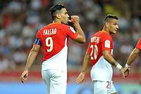 09 RADAMEL FALCAO (mon) - JOIE<br /> Monaco 27-08-2017 <br /> Monaco - Olympique Marsiglia <br /> Calcio Ligue 1 2017/2018 <br /> Foto Lecouer/Panoramic/insidefoto