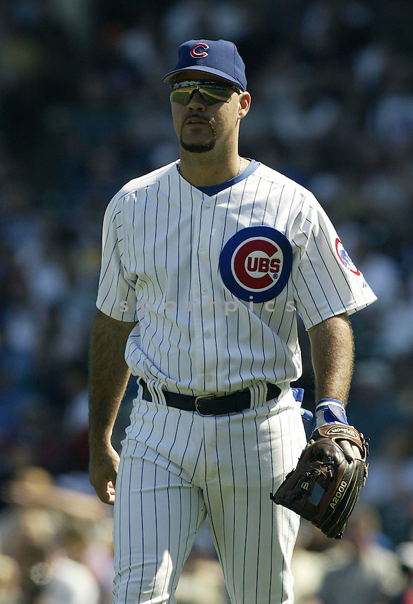 Ramon Martinez during the Cubs v. Marlins game on September 10, 2004..Kevin Tanaka / SportPics