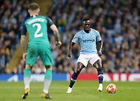 Manchester City's Benjamin Mendy look stop take on Tottenham Hotspur's Kieran Trippier<br /> <br /> Photographer Rich Linley/CameraSport<br /> <br /> UEFA Champions League - Quarter-finals 2nd Leg - Manchester City v Tottenham Hotspur - Wednesday April 17th 2019 - The Etihad - Manchester<br />  <br /> World Copyright © 2018 CameraSport. All rights reserved. 43 Linden Ave. Countesthorpe. Leicester. England. LE8 5PG - Tel: +44 (0) 116 277 4147 - admin@camerasport.com - www.camerasport.com
