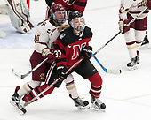Kali Flanagan (BC - 10), Kasidy Anderson (NU - 37) -  The Boston College Eagles defeated the Northeastern University Huskies 2-1 in overtime to win the 2017 Hockey East championship on Sunday, March 5, 2017, at Walter Brown Arena in Boston, Massachusetts.
