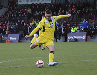 Jason Naismith in the Ross County v St Mirren Scottish Professional Football League match played at the Global Energy Stadium, Dingwall on 17.1.15.