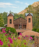 Over 300,000 people visit this sacred site every year. Believed to be built on sacred earth with miraculous healing powers, the legendary shrine El Santuario de Chimayó, is probably the most visited church in New Mexico.