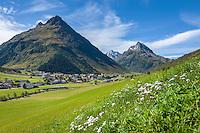 Austria, Tyrol, Galtuer in Paznaun Valley | Oesterreich, Tirol, Galtuer im hinteren Paznauntal: an der Grenze zu Vorarlberg