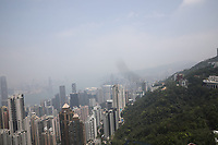 General views from The Peak of Hong Kong on 5.4.19.
