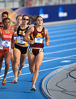 Minnesota's Heather Dorniden during competition at the 2008 Outdoor NCAA Track & Field Nationals. 061208