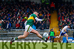 Jack Sherwood  Kerry in action against  Monaghan during the Allianz Football League Division 1 Round 5 match between Kerry and Monaghan at Fitzgerald Stadium in Killarney, on Sunday.