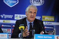 VOETBAL: LEEUWARDEN: 26-10-2014, Canbuurstadion, Cambuur - Feyenoord, uitslag 0-1, Fred Rutten (trainer Feyenoord), ©foto Martin de Jong