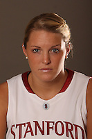 STANFORD, CA - OCTOBER 16:  Jayne Appel of the Stanford Cardinal during a schedule card photo shoot on October 16, 2009 in Stanford, California.