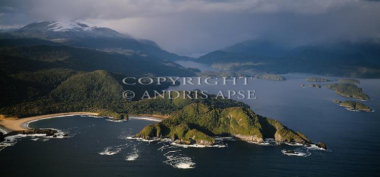 Preservation Inlet. Fiordland National Park. New Zealand.