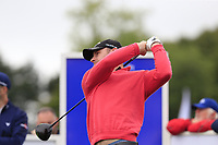 Scott Henry (SCO) tees off the 1st tee during Sunday's Final Round of the Northern Ireland Open 2018 presented by Modest Golf held at Galgorm Castle Golf Club, Ballymena, Northern Ireland. 19th August 2018.<br /> Picture: Eoin Clarke | Golffile<br /> <br /> <br /> All photos usage must carry mandatory copyright credit (&copy; Golffile | Eoin Clarke)