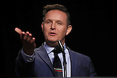 United States Television producer Mark Burnett introduces U.S. President Donald Trump  at the National Prayer Breakfast February 2, 2017 in Washington, DC. Every U.S. president since Dwight Eisenhower has addressed the annual event. <br /> Credit: Win McNamee / Pool via CNP