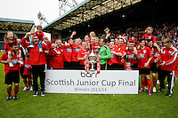 2014 BARR SCOTTISH JUNIOR CUP FINAL