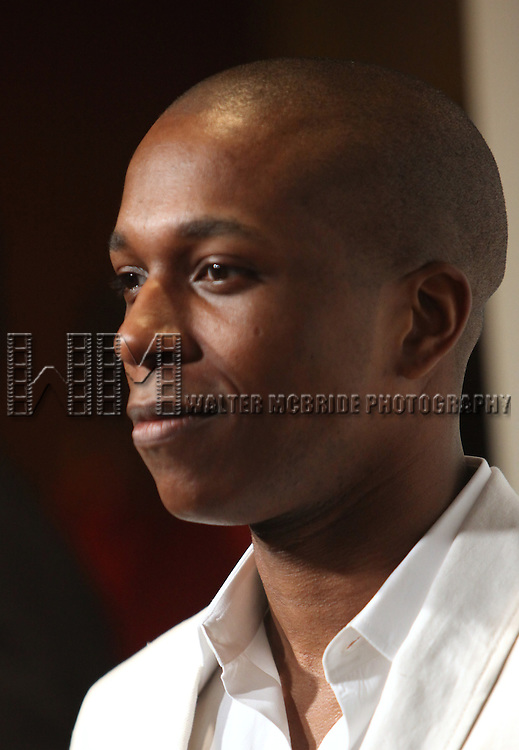 Leslie Odom Jr..attending the The 78th Annual Drama League Awards at the Mariott Marquis Hotel in New York City on5/18/2012