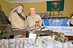 Listowel Army, Agri & Vintage Day : Attending the Listowel Army, Agri, & Vintage Day on Sunday last were Sean Diffley, Shanagolden & Jim Halpin , Listowel Military Museum.
