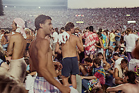 Fans at The Grateful Dead at Foxboro Stadium 2 July 1989. 25th Anniversary Tour.