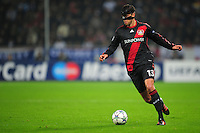 FUSSBALL   CHAMPIONS LEAGUE   SAISON 2011/2012   GRUPPENPHASE Bayer 04 Leverkusen - FC Chelsea    23.11.2011 Michael BALLACK (Leverkusen) Einzelaktion am Ball