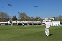 General view of play under blue skies during Essex CCC vs Lancashire CCC, Specsavers County Championship Division 1 Cricket at The Cloudfm County Ground on 9th April 2017