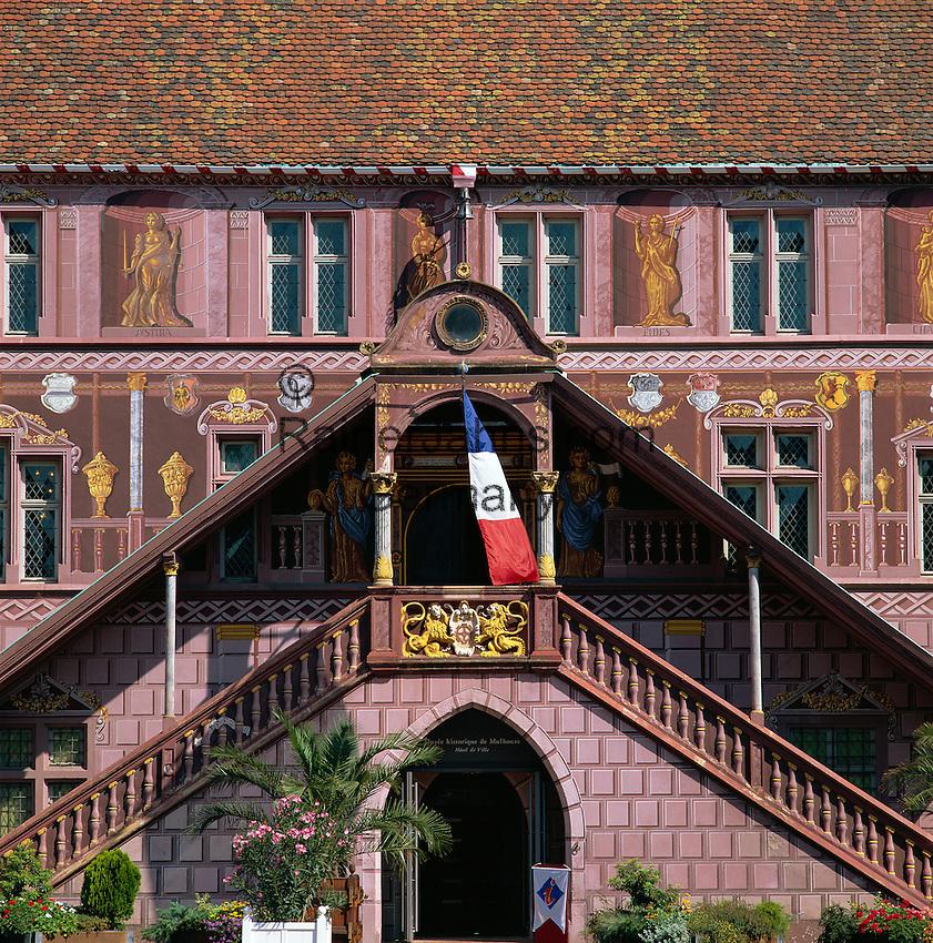 Mulhouse Frankreich frankreich elsass départements haut rhin muelhausen mulhouse