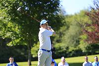 Graham McDowell (NIR) team during Wednesday's Pro-Am of the 2014 Irish Open held at Fota Island Resort, Cork, Ireland. 18th June 2014.<br /> Picture: Eoin Clarke www.golffile.ie