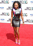Naturi Naughton arrives at the 2010 BET Awards at the Shrine Auditorium in Los Angeles, California on June 27,2010                                                                               © 2010 Hollywood Press Agency
