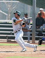Leonardo Gil / Oakland Athletics 2008 Instructional League..Photo by:  Bill Mitchell/Four Seam Images