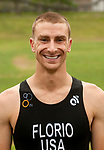 MIDDLEBURY,  CT-061717JS08- Eric Florio of East Williston, NY, was the sprint winner during the Pat Griskus Triathlon Olympics race Saturday at Quassy Amusement Park in Middletown. <br /> Jim Shannon Republican-American