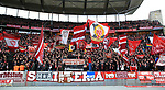 19.01.2020, OLympiastadion, Berlin, GER, DFL, 1.FBL, Hertha BSC VS. Bayern Muenchen, <br /> DFL  regulations prohibit any use of photographs as image sequences and/or quasi-video<br /> im Bild Bayern-Fankurve<br /> <br />       <br /> Foto © nordphoto / Engler