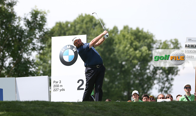 Shane Lowry (IRL) cards a level round during Round One of the 2015 BMW International Open at Golfclub Munchen Eichenried, Eichenried, Munich, Germany. 25/06/2015. Picture David Lloyd | www.golffile.ie