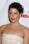 HOLLYWOOD, CA. - October 23: Actress Neve Campbell arrives at the Sir Richard Branson Charity Event Rock The Kasbah Benefitting Virgin Unite at The Hollywood Roosevelt Hotel on October 23, 2008 in Hollywood, California.
