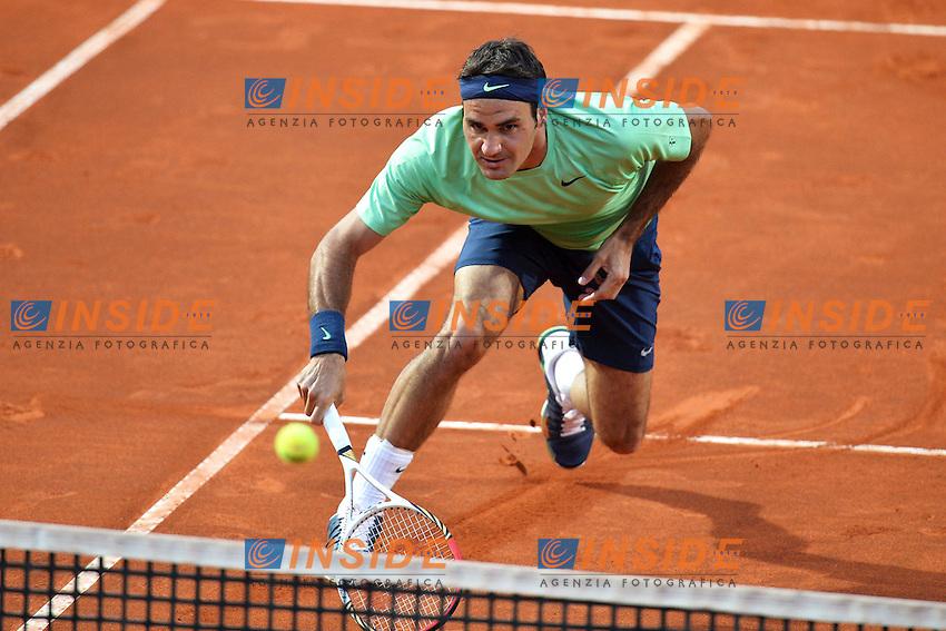 Roger Federer Switzerland .Roma 14/05/2013 Foro Italico .Tennis Internazionali d'Italia 2013 .Foto Andrea Staccioli Insidefoto
