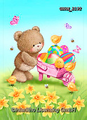 Roger, EASTER, OSTERN, PASCUA, paintings+++++,GBRM2192,#e#, EVERYDAY ,bear,bears,