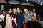 The Gossip Table starring hosts Chloe Melas, Marianne Garvey, Rob Shuter (Days of Our Lives (C), Noah Levy, Delaina Dixon (Daily Gals Diva)  & executive producer Shane Farley at the launch party to celebrate our new VH1 morning show beginning June 3 - party was on May 30, 2013 at Catch Roof, New York City, New York. (Photo by Sue Coflin/Max Photos)
