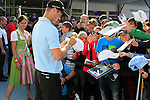 Martin Kaymer (GER) signs autographs at the end of Day 2 of the BMW International Open at Golf Club Munchen Eichenried, Germany, 24th June 2011 (Photo Eoin Clarke/www.golffile.ie)