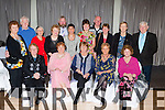 Enjoying the Gneeveguilla GAA social in the Killarney Heights Hotel on Saturday night were front row l-r: Maureen Moore, Mary Donnegan, Kay Wrenne, Norah Galvin, Joan Beranger. Back row: Breda Falvey, Michael O'Meara, Maura O'Dwyer, Mary Barrett, David Curtin, Lana Barton, Gretta Ambrose, John O'Dwyer, Jackie Fitzgerald, Bridie Lynch, and David Lenihan