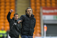 Wycombe Wanderers Manager Gareth Ainsworth during the The Checkatrade Trophy match between Blackpool and Wycombe Wanderers at Bloomfield Road, Blackpool, England on 10 January 2017. Photo by Andy Rowland / PRiME Media Images.