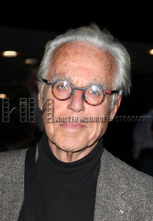 John Guare attending the Opening Night Performance of the Roundabout Theatre Production of  'If There Is I Haven't Found It Yet' at the Laura Pels Theatre in New York City on 9/20/2012.